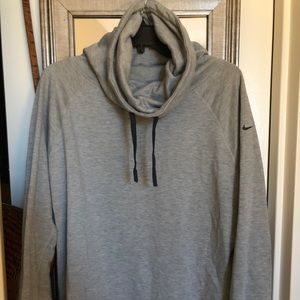 Nike funnel neck fleece lined pullover